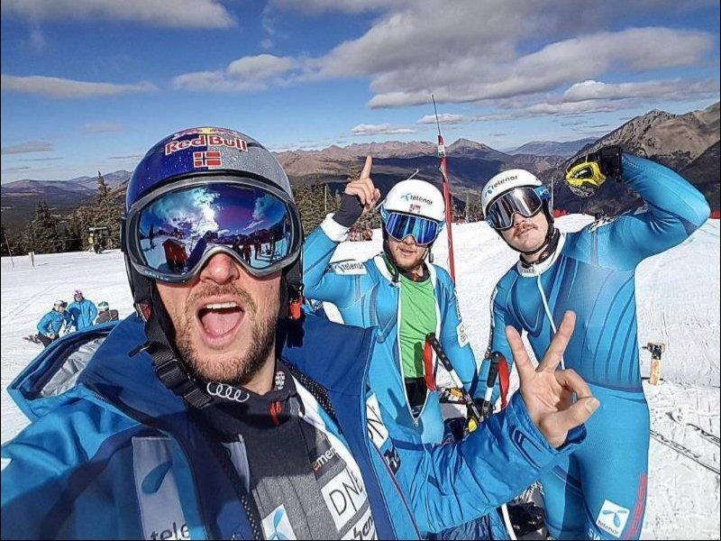 Aksel Lund Svindal torna in gara in Val d'Isere