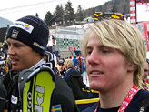 Ted Ligety e, più indietro, Andre Myhrer