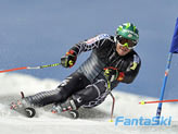 Bode Miller a Saas Fee: splendida sequenza