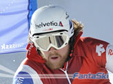 Marc Berthod in azione a Saas Fee